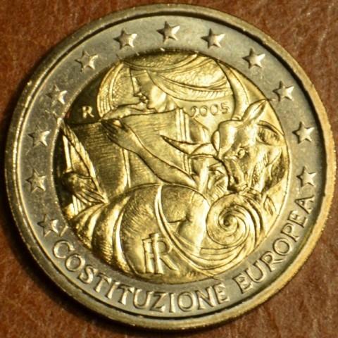 2 Euro Taliansko 2005 - 1. výročie podpísania Európskej ústavy (UNC)