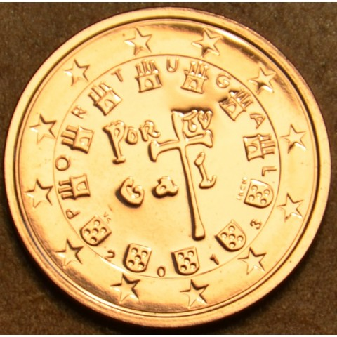 2 cent Portugalsko 2013 (UNC)