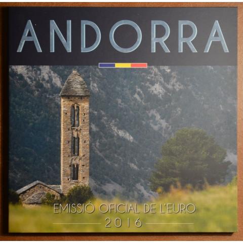 Sada 8 mincí Andorra 2016 (BU)