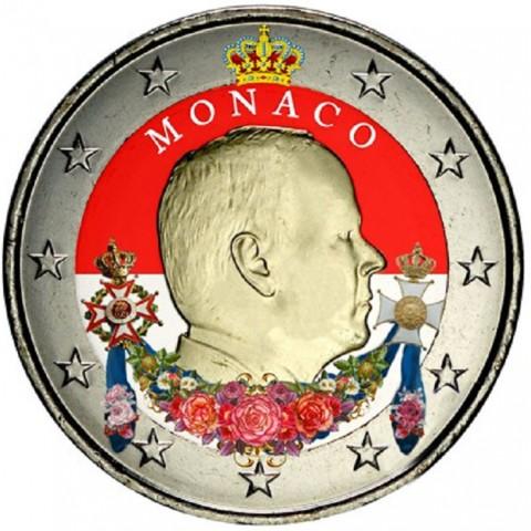 2 Euro Monaco 2015 (farebná UNC)