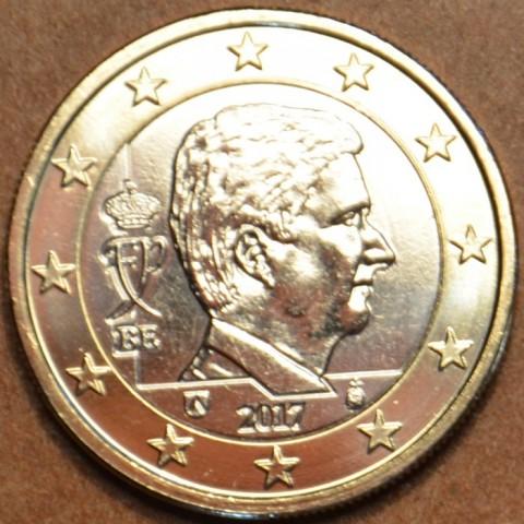 1 Euro Belgicko 2017 - Kráľ Filip (UNC)