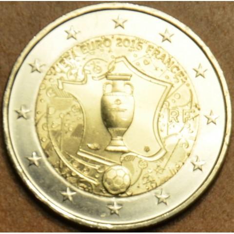 2 Euro Francúzsko 2016 - UEFA (UNC)