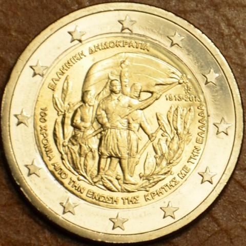 2 Euro Grécko 2013 - 100 rokov únie s Krétou (UNC)