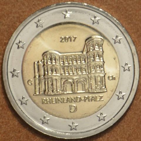 """2 Euro Nemecko """"G"""" 2017 - Porýnie-Falcko:  Porta Nigra  (UNC)"""
