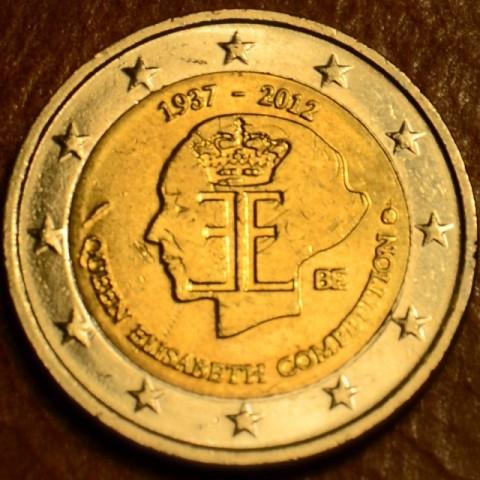 2 Euro Belgicko 2012 - 75. výročie hudobnej súťaže Královnej Alžbety (UNC)