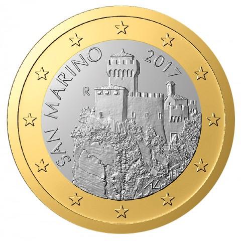 1 Euro San Marino 2017 (UNC)