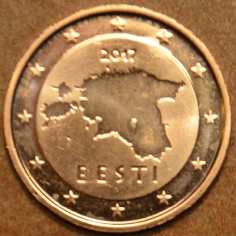 1 cent Estónsko 2017 (UNC)