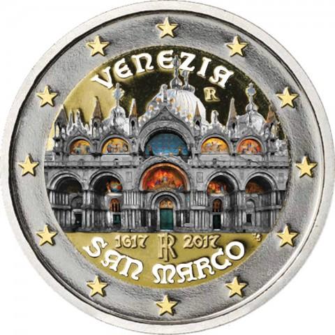 2 Euro Italy 2017 - Venezia  (colored UNC)