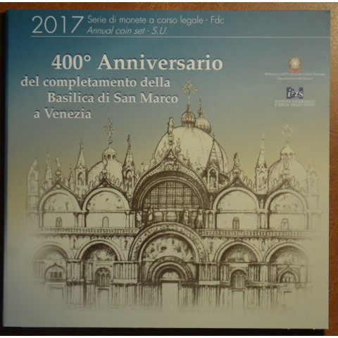Set of 9 coins Italy 2017 (BU)