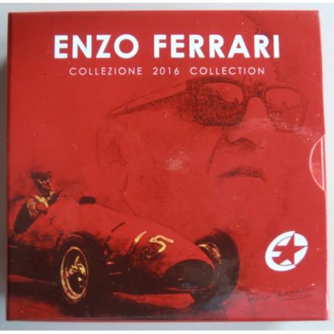 10 Euro Taliansko 2016 - Enzo Ferrari (Proof)