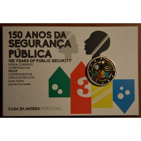 2 Euro Portugal 2017 - Public Security Police  (Proof)