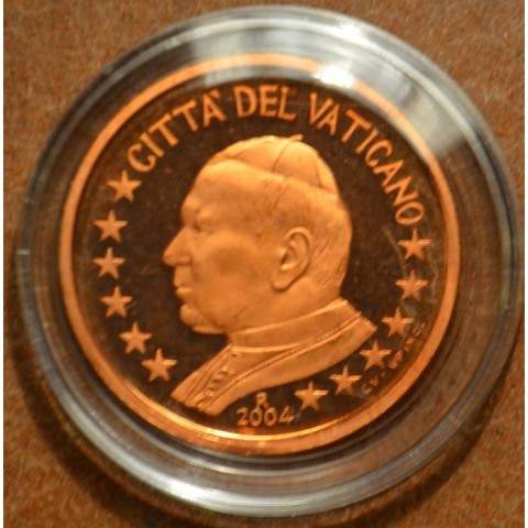 1 cent Vatican His Holiness Pope John Paul II 2004 (Proof)