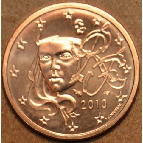 1 cent Francúzsko 2010 (UNC)