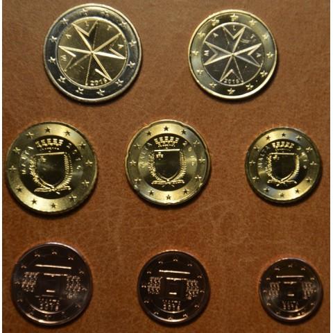 Sada 8 euromincí Malta 2016 (UNC)