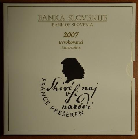 Sada 8 mincí Slovinsko 2007 (BU)