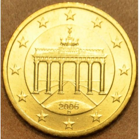 """50 cent Nemecko """"D"""" 2006 (UNC)"""