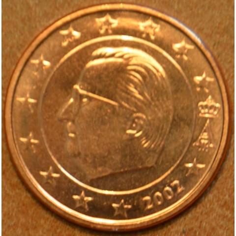 1 cent Belgicko 2002 (UNC)