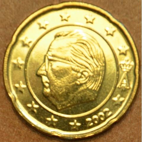 20 cent Belgicko 2002 (UNC)