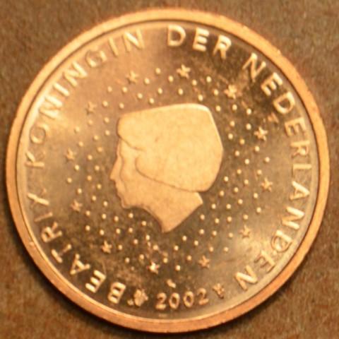 2 cent Holandsko 2002 (UNC)