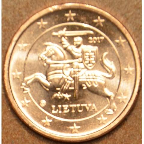 1 cent Litva 2017 (UNC)