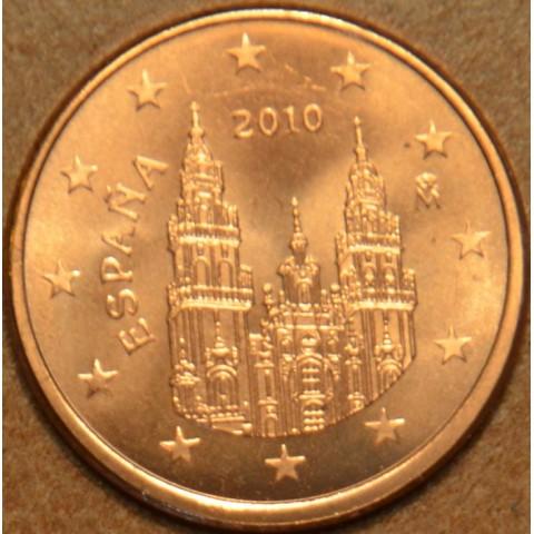 2 cent Španielsko 2010 (UNC)