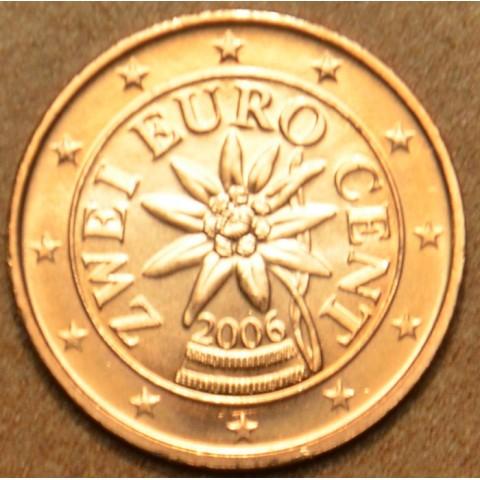 2 cent Rakúsko 2006 (UNC)