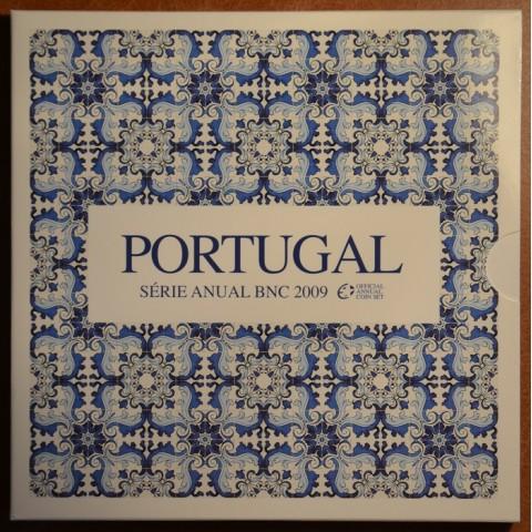Súbor 8 portugalských mincí 2009 (BU)