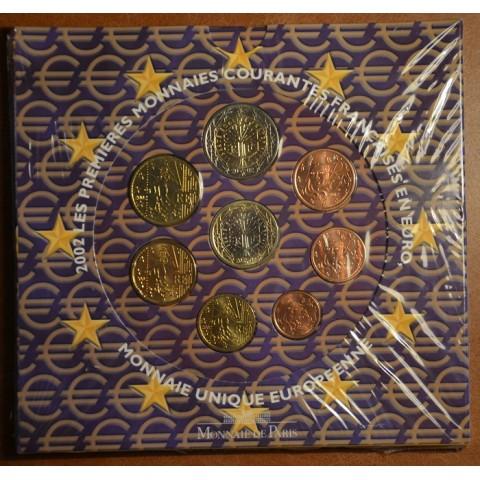 Súbor 8 Francúzskych mincí 2002 (BU)