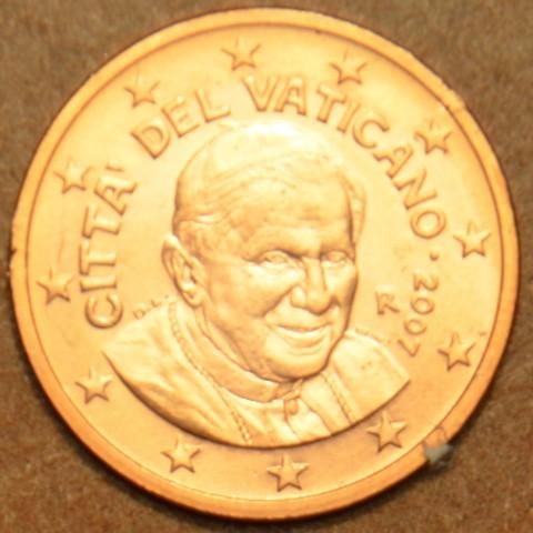 2 cent Vatikán Benedikt XVI. 2007 (BU)