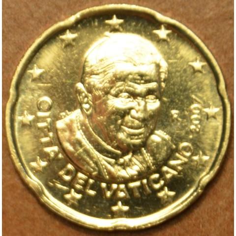 20 cent Vatikán Benedikt XVI. 2007 (BU)