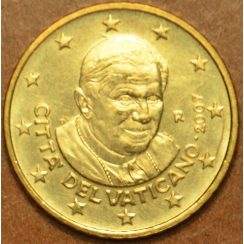 50 cent Vatikán Benedikt XVI. 2007 (BU)