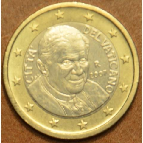 1 Euro Vatikán Benedikt XVI. 2007 (BU)