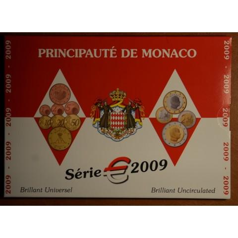 Euro set 8 mincí Monaco 2009 (BU)