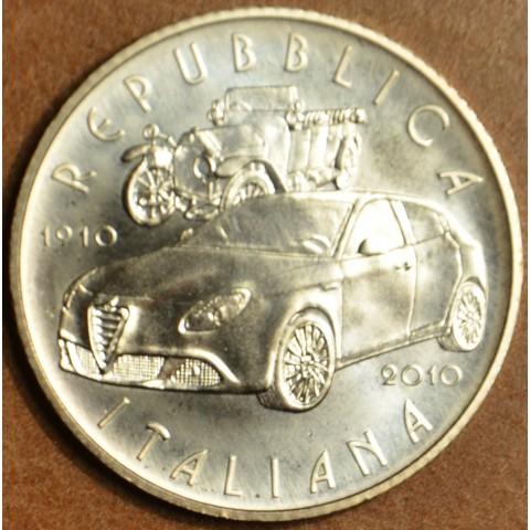 5 Euro Taliansko 2010 - 100 rokov Alfa Romeo (BU)