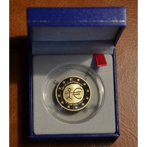 2 Euro Francúzsko 2009 - 10. výročie hospodárskej a menovej únie  (Proof)