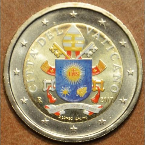 2 Euro Vatikán 2017 (farebná UNC)