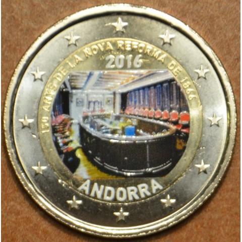 2 Euro Andorra 2016 - Nove reformy (farebná UNC)