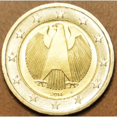 """2 Euro Nemecko """"A"""" 2014 (UNC)"""