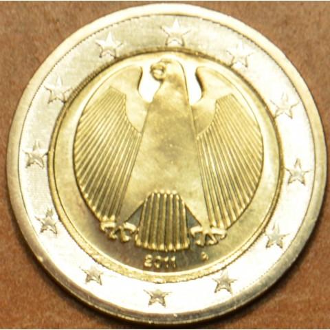 """2 Euro Nemecko """"A"""" 2011 (UNC)"""