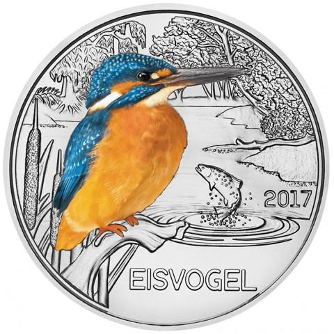 3 Euro Rakúsko 2017 - Rybárik (UNC)