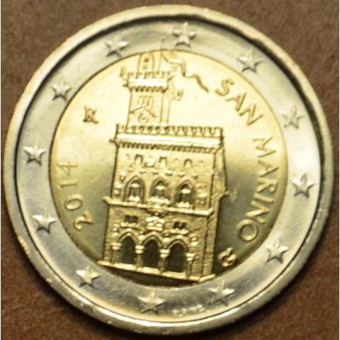 2 Euro San Marino 2014 - Dom vlády (UNC)