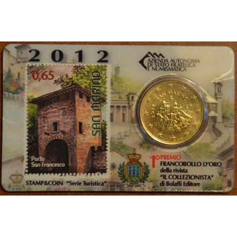 50 cent San Marino 2012 + známka II. (BU)