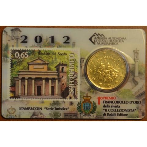 50 cent San Marino 2012 + známka III. (BU)