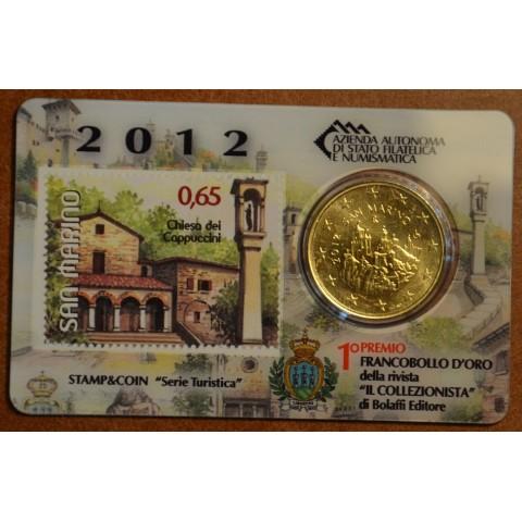 50 cent San Marino 2012 + známka V. (BU)