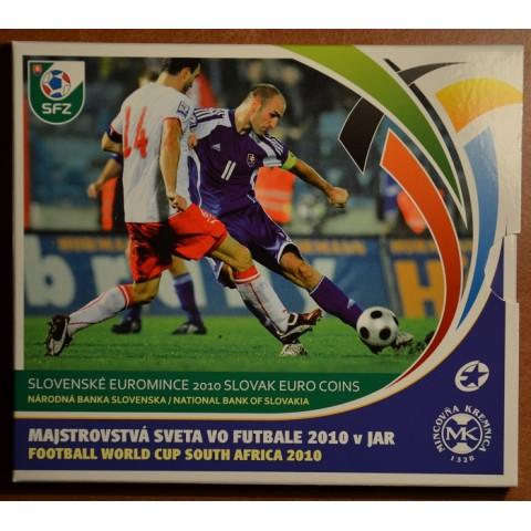 Súbor Slovenských mincí 2010 - MS vo futbale JAR 2010 (BU)