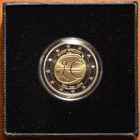 2 Euro Fínsko 2009 - 10. výročie hospodárskej a menovej únie  (Proof)