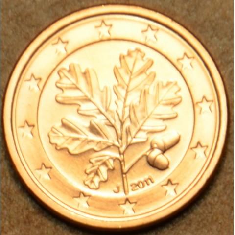 """1 cent Nemecko """"J"""" 2011 (UNC)"""