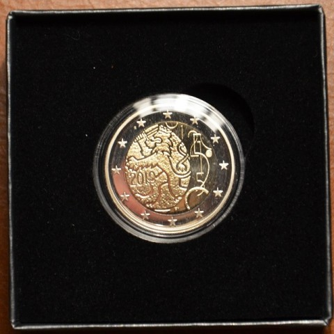 2 Euro Fínsko 2010 - 150. výročie Fínskej meny (Proof)