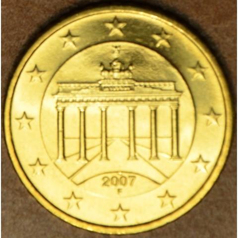 "50 cent Nemecko ""F"" 2007 (UNC)"