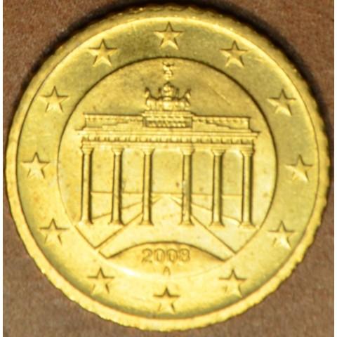 """50 cent Nemecko """"A"""" 2008 (UNC)"""